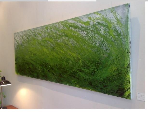 Juan Alvarez acrilico 200 cm largo