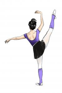 Juan Alvarez figuras de bailarinas para metacrilato