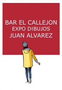 Juan Alvarez expo bar el callejon